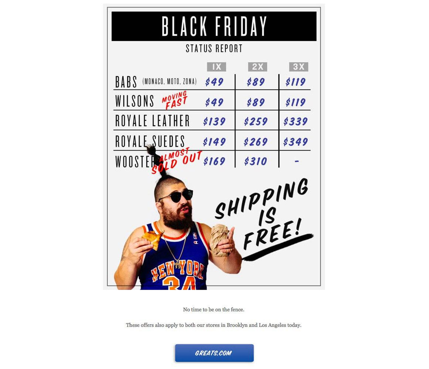 Awesome Black Friday Campaigns What We Can Steal From Them Sitekit