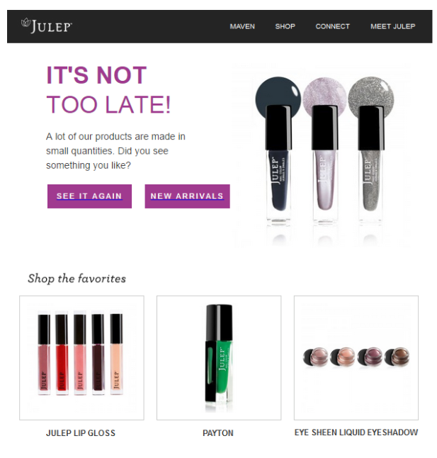 Julep - Email Marketing for eCommerce