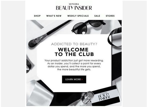 Sephora - Email Marketing for eCommerce